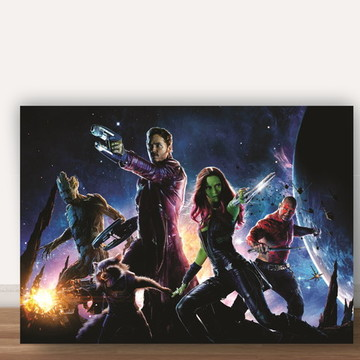 Poster Guardioes da Galaxia A4