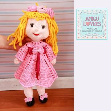Boneca Luna Amigurumi