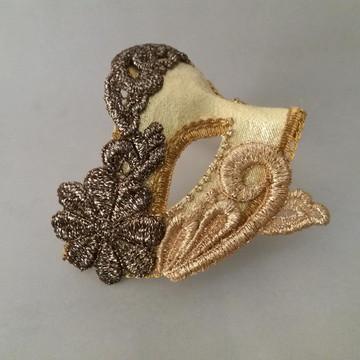 Mascara noiva veneziana Gold