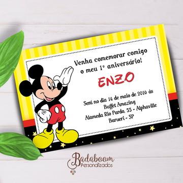 Convite Infantil Mickey I