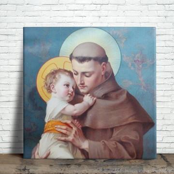 Azulejo Decorativo - Santo António
