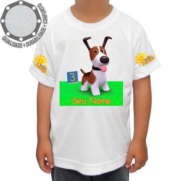 Camiseta Turminha Paraíso Camisa Cachorro ah01565