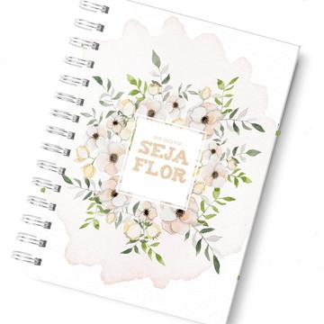 Planner diário rosa