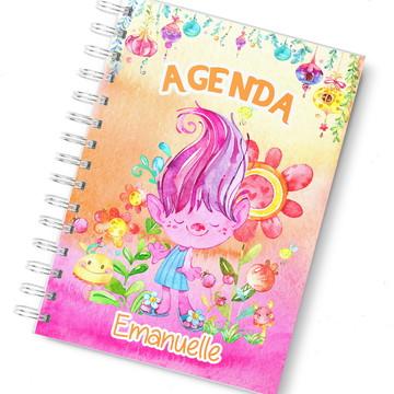 Agenda trolls planner diaria