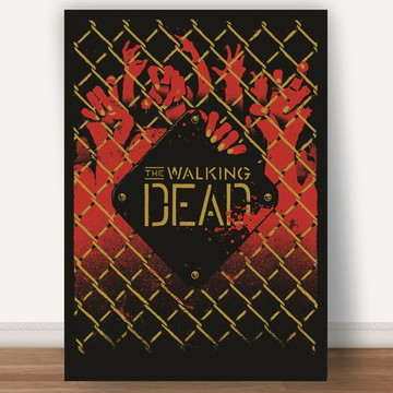 Poster The walking Dead A4