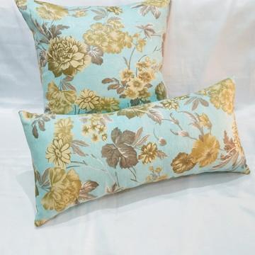 Kit almofadas Decorativa estampadas floral 2 pçs