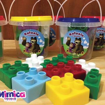 Mini Kit Lego Masha e o Urso