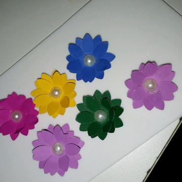 Mini flores de papel