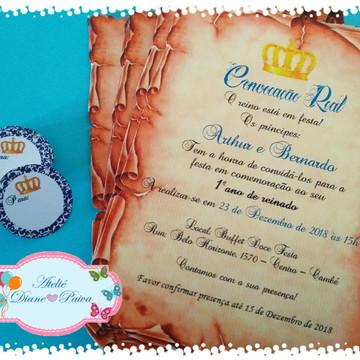 Convite Coroa MENINO 02