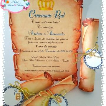 Convite Coroa MENINO 03