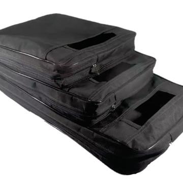 Porta Sacolas Tripla - 3 Compartimentos Lojas Supermercados