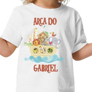 Camisa infantil Arca de Noé