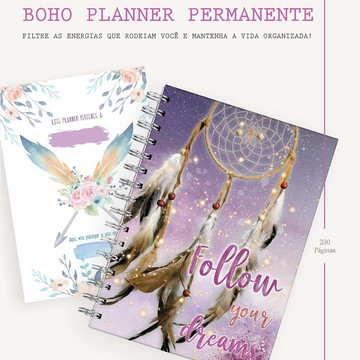 Planner Permanente Boho