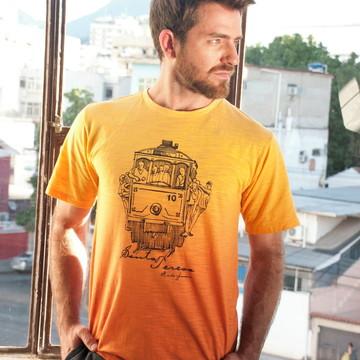 Tshirts Bondinho em Malha Flame 50% Pet Reciclado + 50% Algo