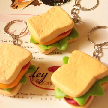 Sanduíche natural - Chaveiro/Colar/aplique/imã