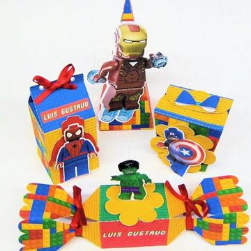 Arquivo de corte lego vingadores