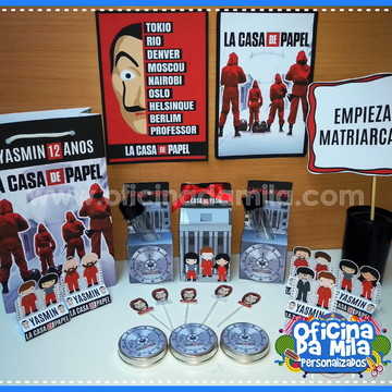 Kit Personalizado LA CASA DE PAPEL