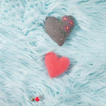 Pingente Corações