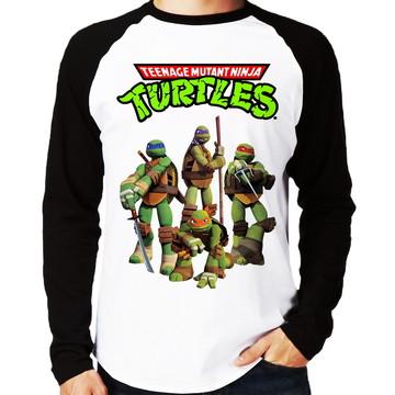 Camiseta Tartarugas Ninja Teenage Mutant Ninja Turtles Ragla