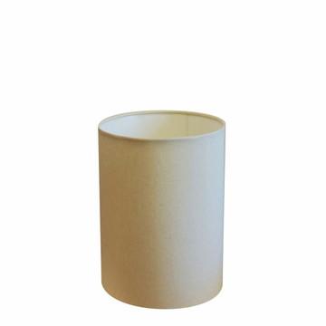 Cupula Tecido Cilindrica luminaria Cp-4012 18X25 Algodao Cru