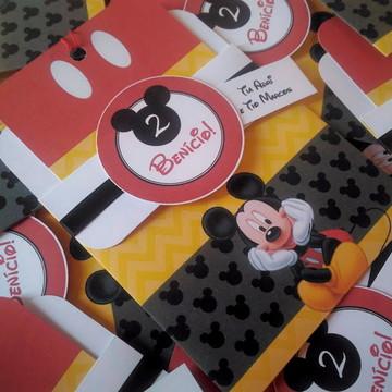 Convite tema infantil Mickey