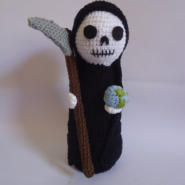 Santa Muerte Amigurumi