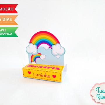 Porta Chocolate - Arco-íris