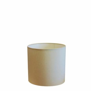 Cupula Tec Cilindrica Abajur Luminaria CP-4046 Algodao Cru