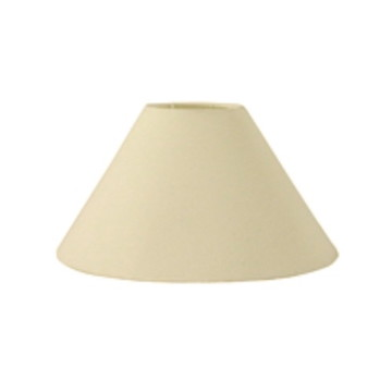 Cupula Tecido Cone Abajur Lumi CP-4078 25/40X15 Algodao Cru