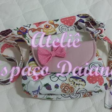 Bolsa Infantil para Meninas - Cupcake