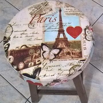 Capa Paris para Banqueta/Banco com Espuma