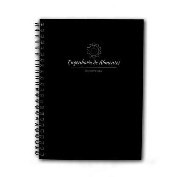 Caderno Personalizado 200fls Engenharia de Alimentos