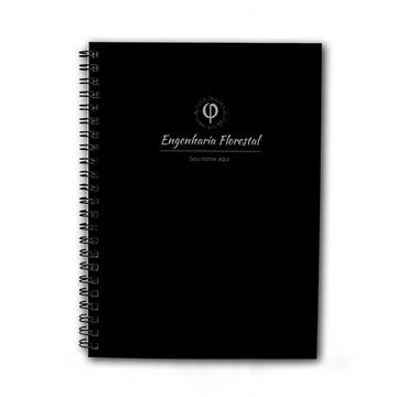 Caderno Personalizado 200fls Engenharia Florestal