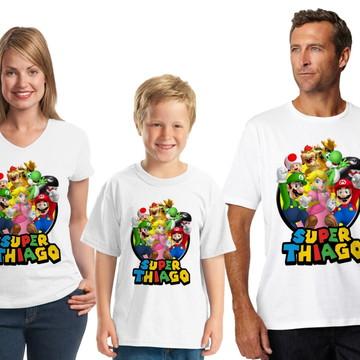 Camisetas temáticas para Festas de Aniversário
