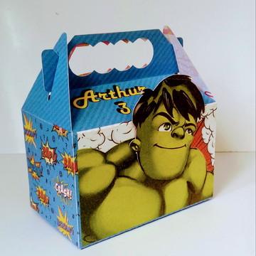 Caixa Super Heróis - Hulk