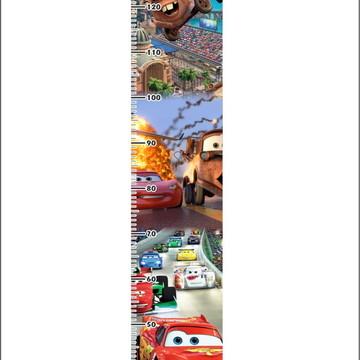 Adesivo Parede Régua Carros Disney Quarto FIlho Infantil Hd