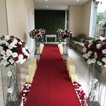 Decoração para Cerimonia de Casamento em Igreja - Locação