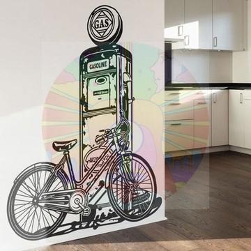 Adesivo Decorativo Bicicleta vintage