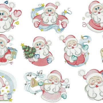 Matrizes de bordado - Coleção de Natal 022