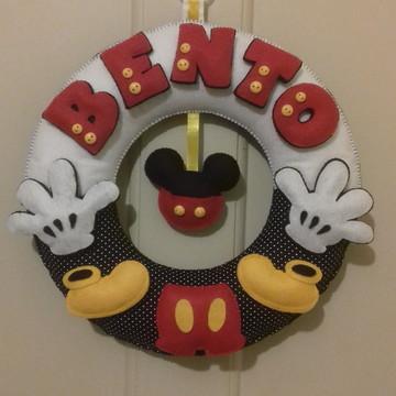 Enfeite de porta Mickey