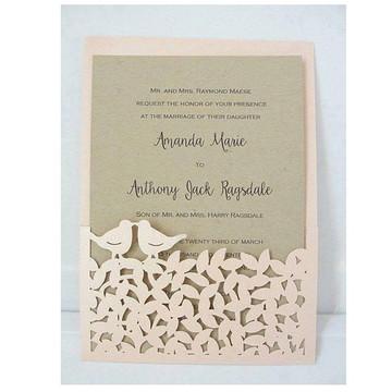 Arquivo de Corte Envelope Pássaros