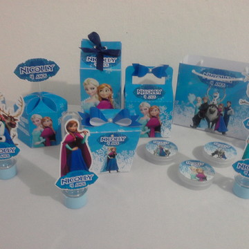 Kit Frozen 80 Personalizados