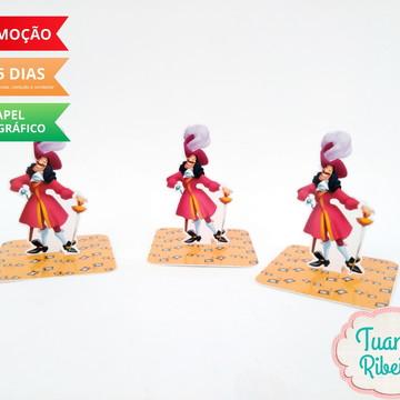 Aplique 3D - Peter Pan / Capitão Gancho