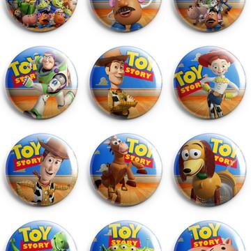 Kit Bottons Toy Story