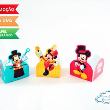 Forminha de docinho Circo do Mickey