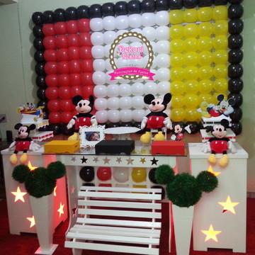 Decoração de festa do Mickey Mouse