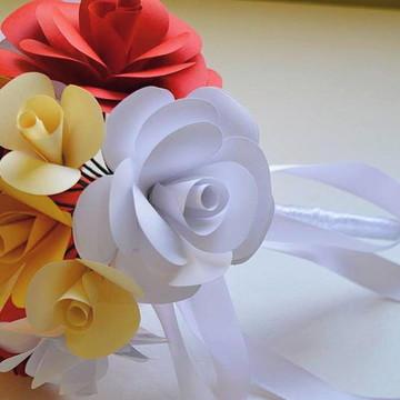 Buquê de Flores para DAMINHAS.