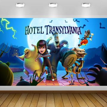 Painel Festa Hotel Transilvânia - Frete Grátis