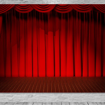 Painel Palco Teatro - Frete Grátis.