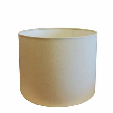 Cupula Tecido Abajur Cilindrica CP-4189 50X30 Algodao Cru